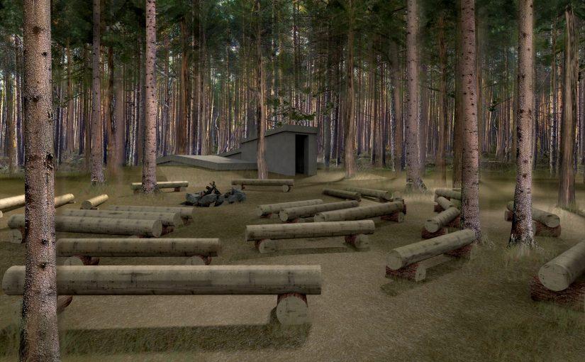 Labiekārtos Latvijas armijas Litenes nometnes vietu
